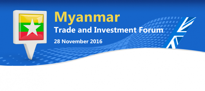 Myanmar Trade and Investment Forum - UKABC