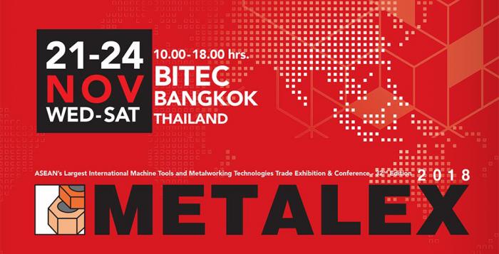 METALEX 2018: ASEAN's largest international machine tool and