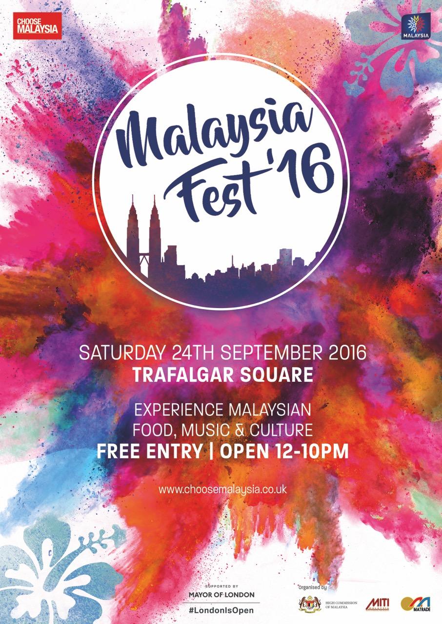 malaysia fest u0026 39 16 at trafalgar square