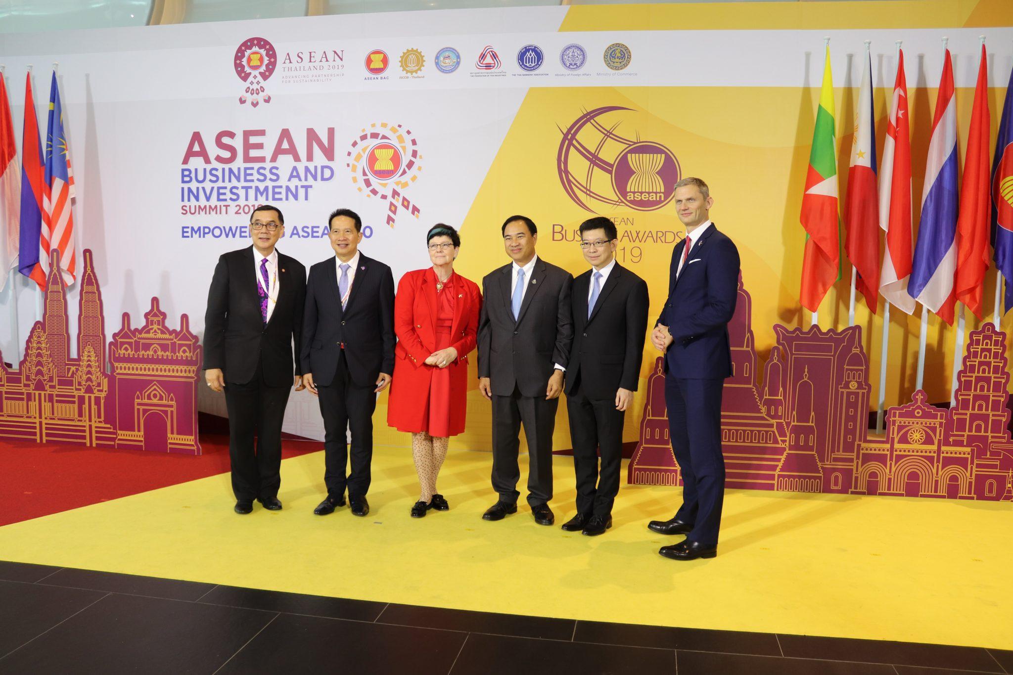 Asean business investment summit brunei work king down vest